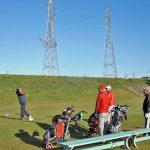 汗が出るほどの暖かさで、絶好のゴルフ日和でした 納会